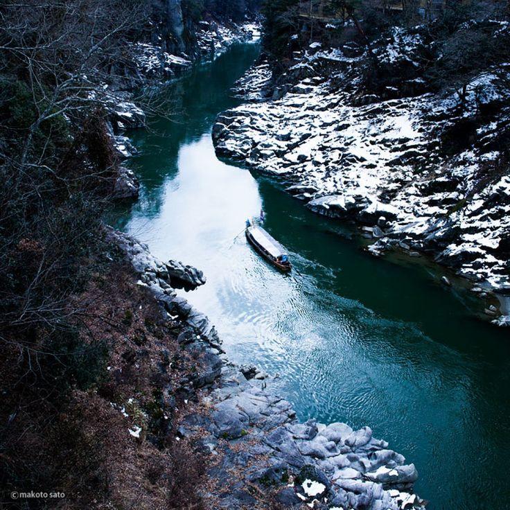 冬の天龍峡