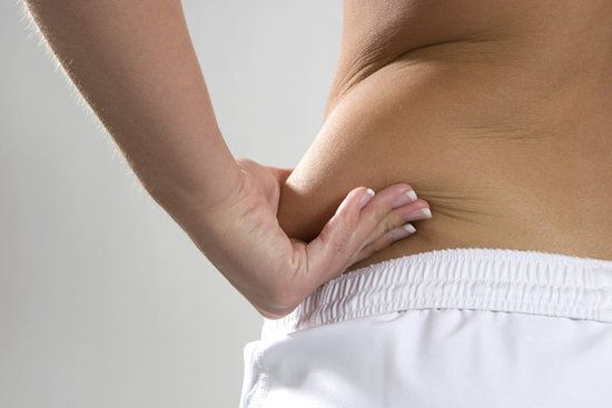 3 Moves to Melt Away Your Muffin Top.  1. Side Bends 2. Standing Twists 3. Jack Knives...Click to See...Once your diet is back on track, Keep these three waist-whittling moves in your life once a week to keep love handles at bay.