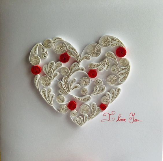 ©Thuy Trang - Quilled heart pictures (Searched by ChauKhang):