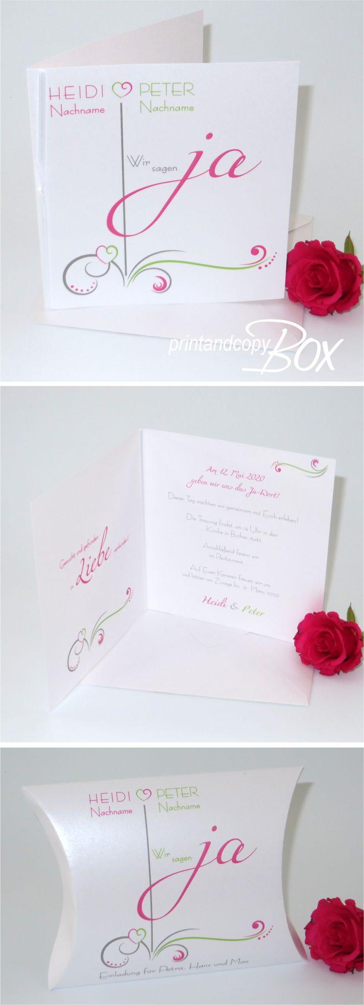120 besten Angesagte Hochzeitseinladungen Bilder auf Pinterest
