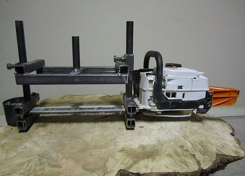 DIY Chainsaw Mill - Thehomesteadingboards.com