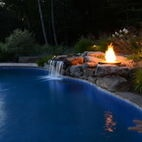Contempory Design meet Natural Beauty - eclectic - pool - new york - Harmony Design Group