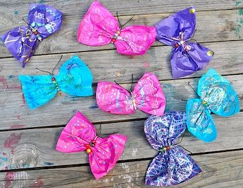 Ten Butterfly Crafts from various blogs, compiled by The Crafty Crow.