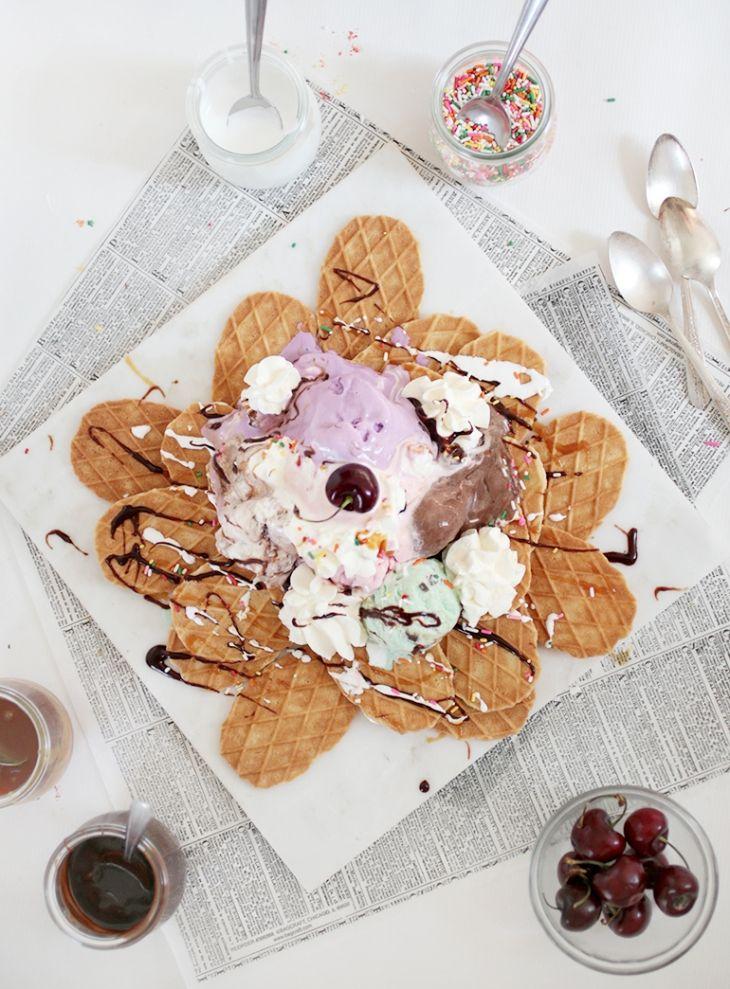 Ice Cream Nachos @themerrythought
