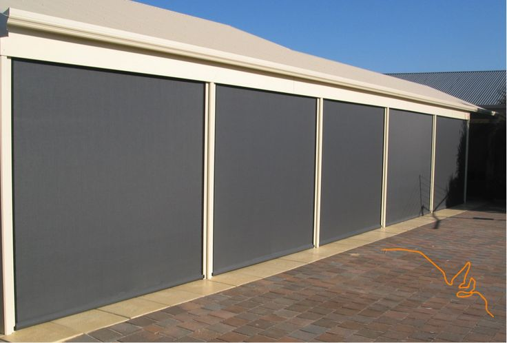 Ziptrak Cafe Blinds by SA Decor ph 1300624075