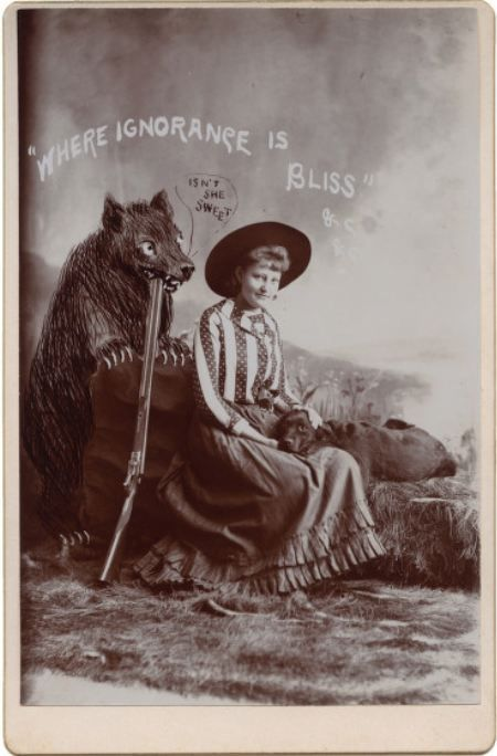 """""""ca. 1890, 'Where Ignorance is Bliss'"""""""