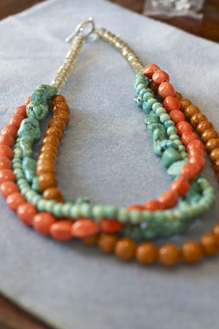 DIY Statement Necklace Tutorial  http://restylerestorerejoice.blogspot.com/2012/08/diy-statement-necklace-tutorial.html