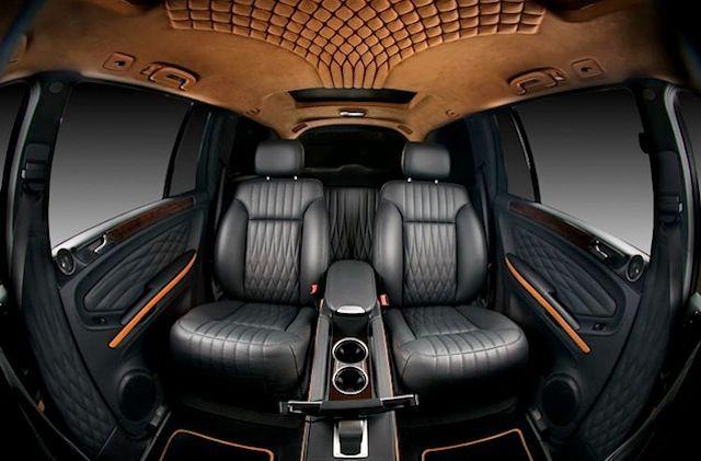The Hog Ring - Diamond Pleat Mercedes Benz GL Vilner Stretching the diamond