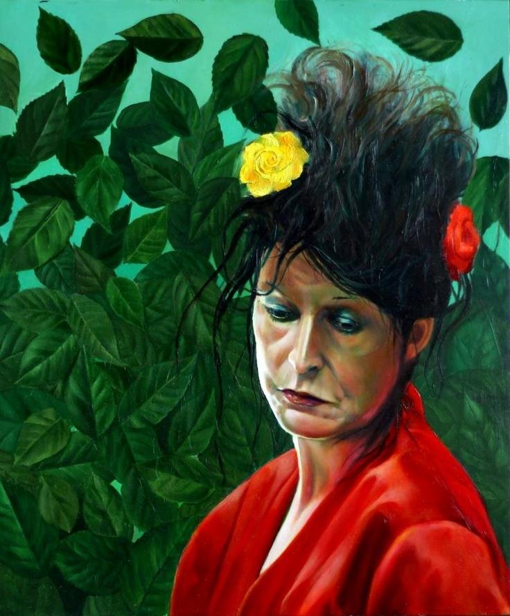 Een fraai portret van Henriëtte, http://www.tekenmodel.com