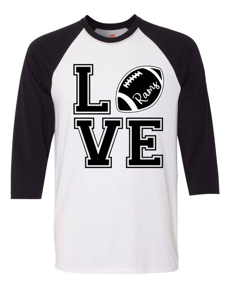 Excited to share the latest addition to my #etsy shop: Love the Rams Tee http://etsy.me/2CjVogi #clothing #women #tshirt #rams #lovetherams #nfl #football #la #losangeles