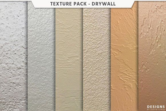 Drywall Texture Pack by Designs by Justin Lynch on @creativemarket