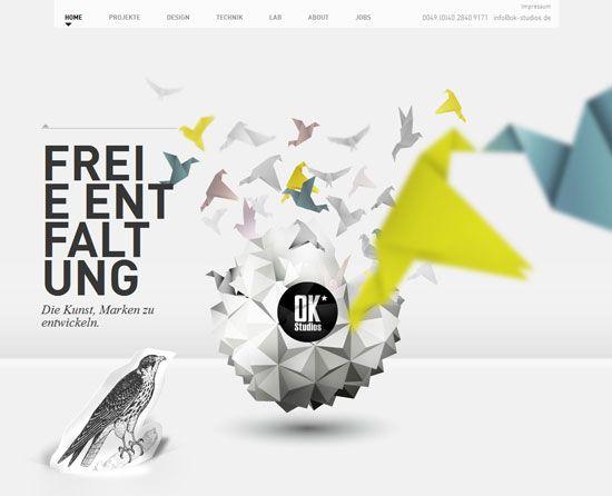 Parallax effect, ok-studios.de