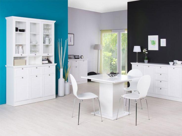 vetrina moderna belize, credenza bianca di design,mobile soggiorno ... - Vetrina Soggiorno Bianca