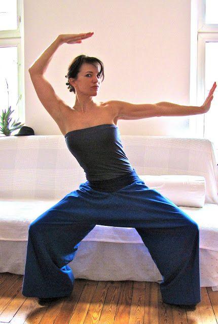 yoga broek (volgens chinees patroon)