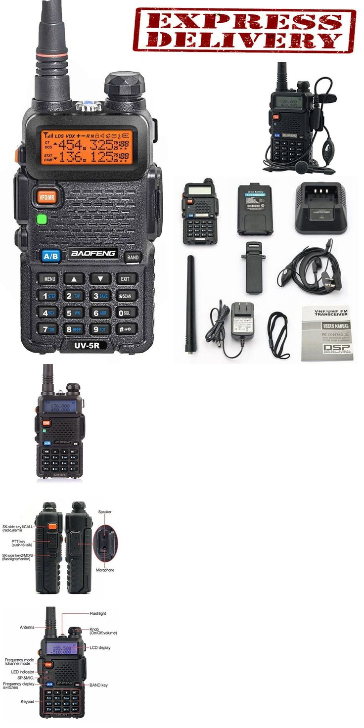 Scanners: Police Radio Scanner Handheld Fire Transceiver Digital Two Way Portable Antenna BUY IT NOW ONLY: $30.7