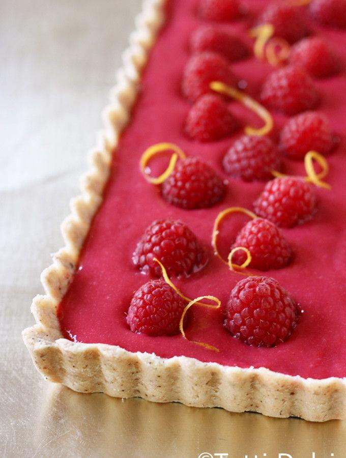 Raspberry Curd Tart | Tutti Dolci