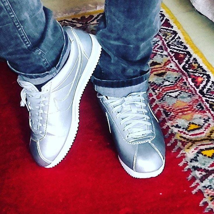 Nike Cortez | Grey mettalic