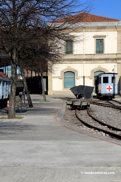 Museo del Ferrocarril Gijón [Más info] http://www.desdeasturias.com/museo-del-ferrocarril-de-asturias-museos-asturias/