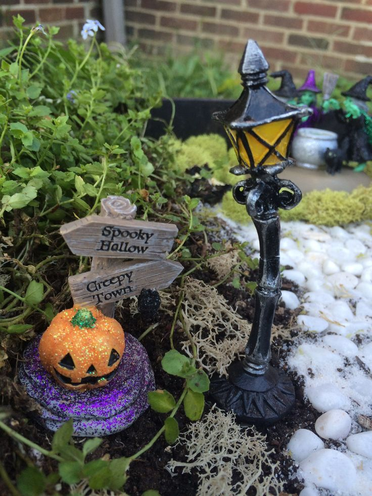 81 Best Images About Halloween Fairy Garden Design And Accessories