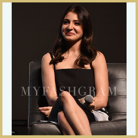 Anushka Sharma in Tanieya Khanuja, Yash Raj Films Talent launch, MyFashgram