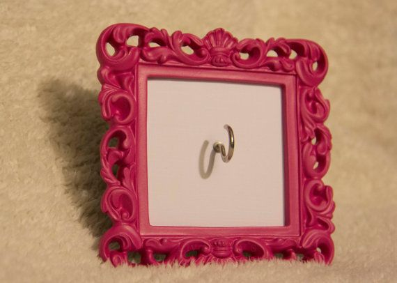 DIY RING HOLDER FRAME  LIV AND LUCY'S