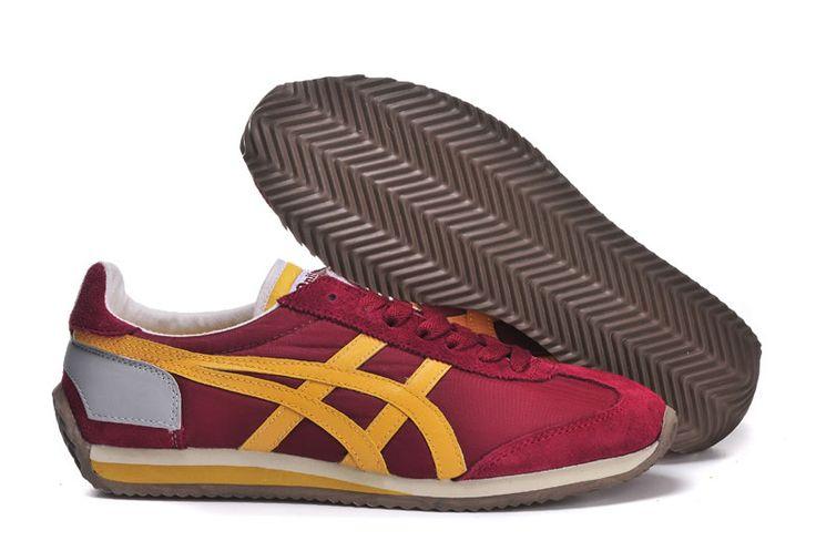 Onitsuka Tiger Men's California 78 OG VIN Red Yellow [OG-VIN001] - $64.99 : Onitsuka Tiger Shoes, Online Onitsuka Tiger Mexico 66 Shoes Shop