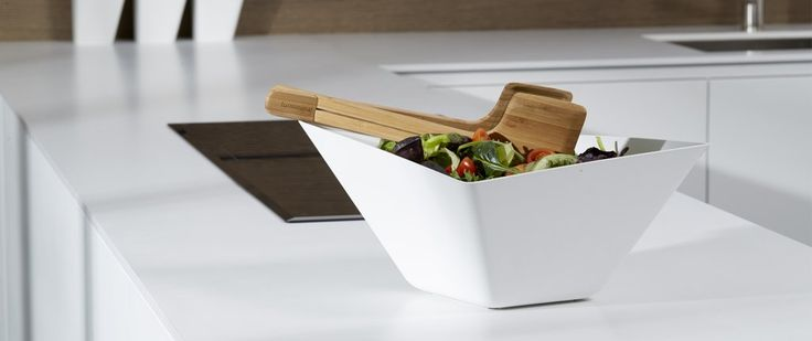 #Salad Bowl + Servers by #Forminimal - #summertableware #artdelatable #design