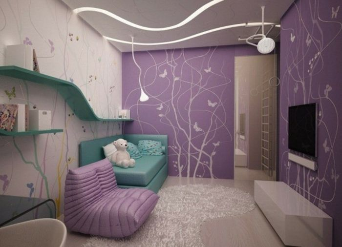 Wohnzimmer Grau Lila – Babblepath – ragopige.info