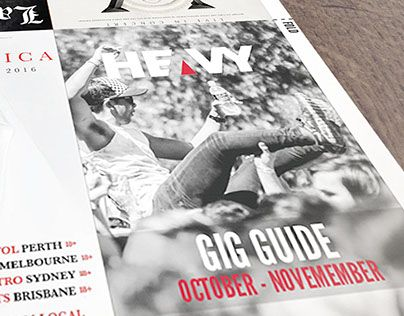 "Check out new work on my @Behance portfolio: ""Heavy Magazine Gig Guide"" http://be.net/gallery/44941987/Heavy-Magazine-Gig-Guide"