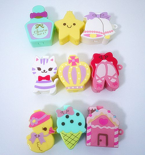 These look like erasers but aren't. Pinning anyway!!! :0)