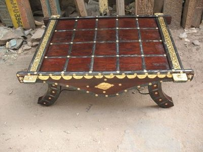 Coffee Table Brass from India _Shikara Design