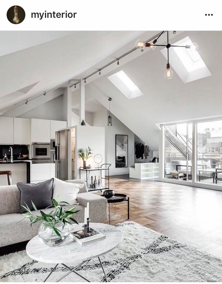 ... In Stockholm (Dust Jacket) This Attic Apartment In Stockholm, Sweden Is  Just Stunning . With Beautiful Parquetry Floors And A Clever Open Plan  Design, ...