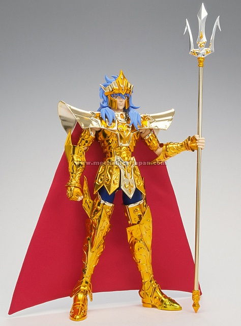 Saint Seiya - Saint Cloth Crown Poseidón (Bandai)