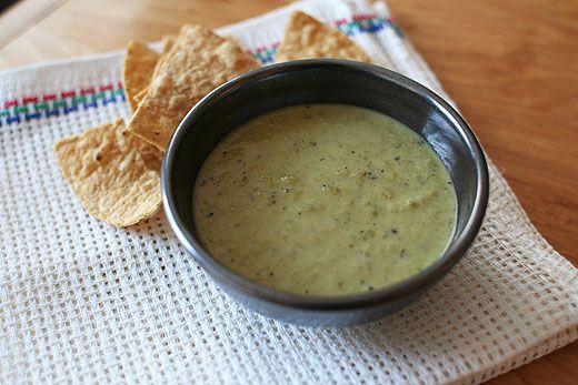 Creamy Roasted Jalapeño Salsa (ML Advanced, Vegan and Paleo - substitute avocado oil)