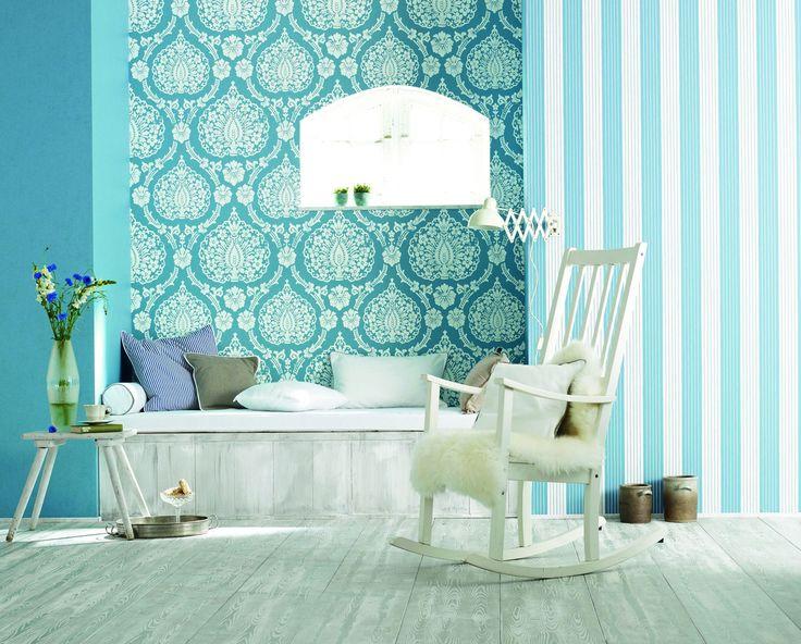Die besten 25+ Marburg wallcoverings Ideen auf Pinterest Wohnung - wohnzimmer tapete blau