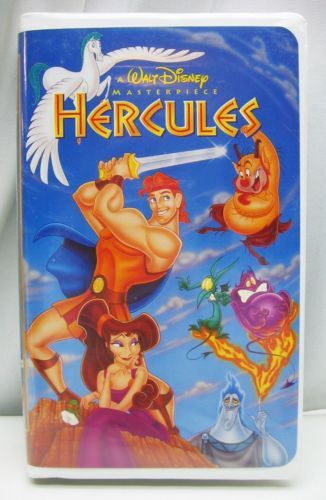 Hercules vhs 1998 video tape walt disney clamshell case - Hercule walt disney ...