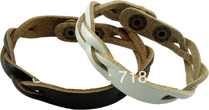 Free Shipping! Vintage Jewelry wholesale engraved any logo custom engraved leather bracelet