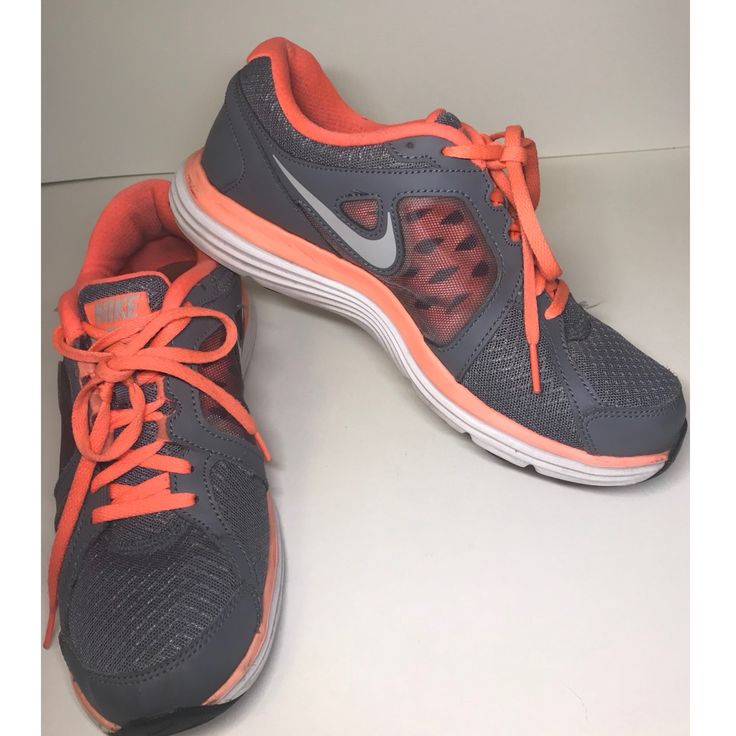 Nike Shoes | Nike Running Shoes  | Color: Orange/Pink | Size: 8