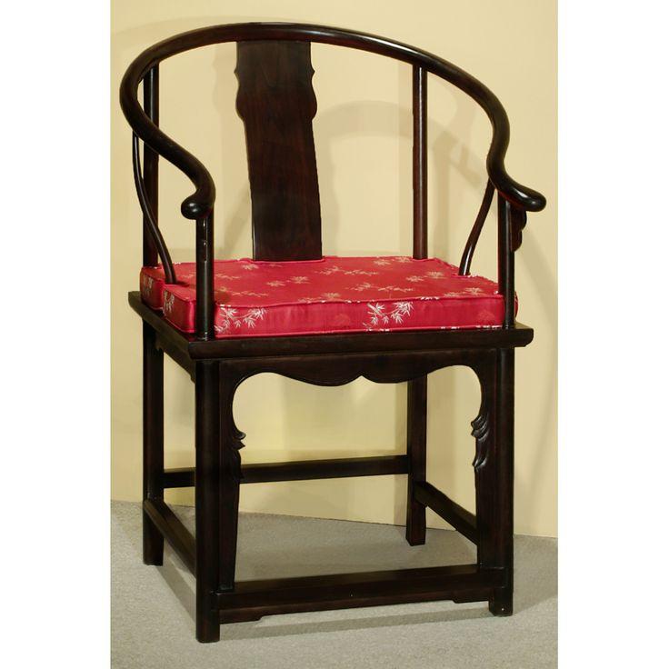 Elmwood Ming Style Tai Shi Arm Chair