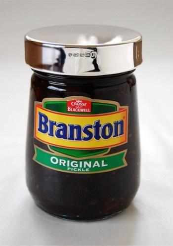 Branston Pickle made near to Lichfield
