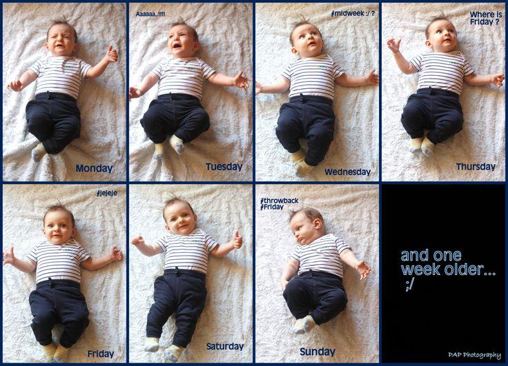 idea FOR BABY PHOTO