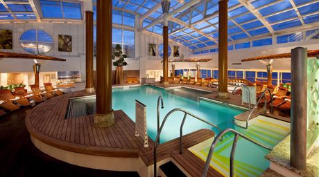 @CelebrityCruises Constellation. Love the Solarium pool, especially during cold weather cruising.