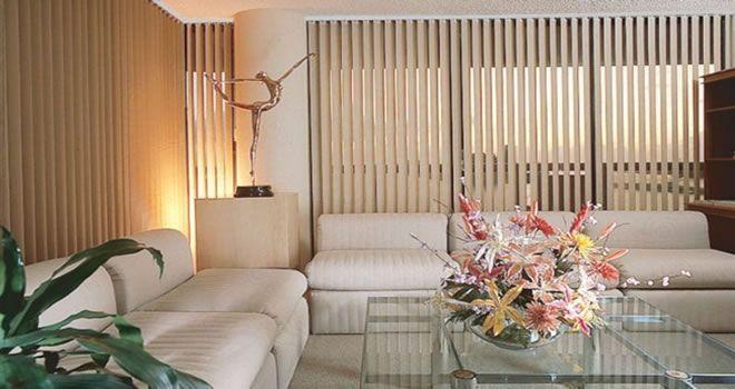 persianas verticais para sala