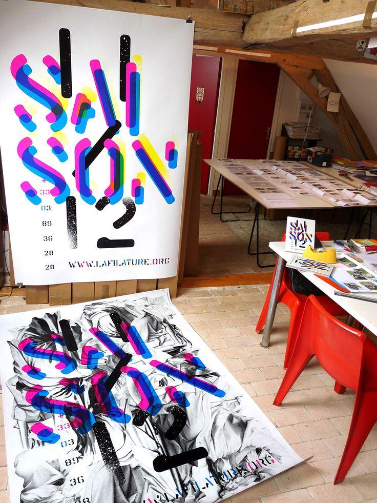 design graphique, affiches, posters, typographie, sérigraphie