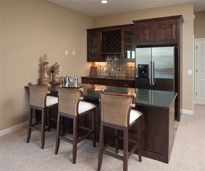 I Want To Do This Wet Bar In The Basement. Itu0027s A Lennar Design So