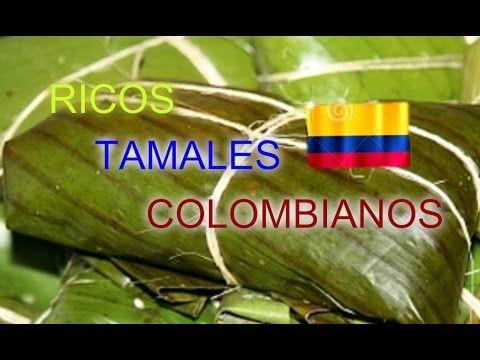 Receta Para Tamales Colombianos 3 | Cómo Hacer Tamales Vallunos| SyS - YouTube