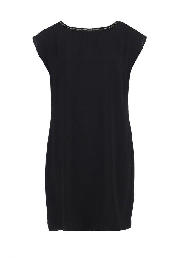 Платье Top Secret женское. Цвет: черный. Сезон: Весна-лето 2014. С бесплатной доставкой и примеркой на Lamoda. http://j.mp/1rOG1UE