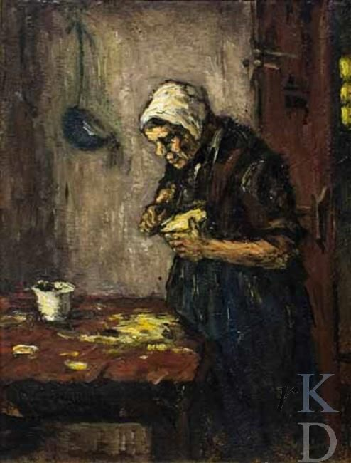 Suze Robertson Kool snijden  1870-1922 Heeze Christie's (Amsterdam), 186 #NoordBrabant #Kempen