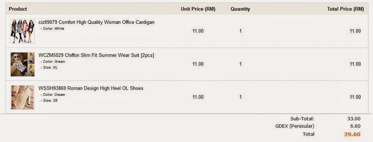 Yan Saflina: Beli Kasut, Cardigan + Summer Wear Suit pada harga...