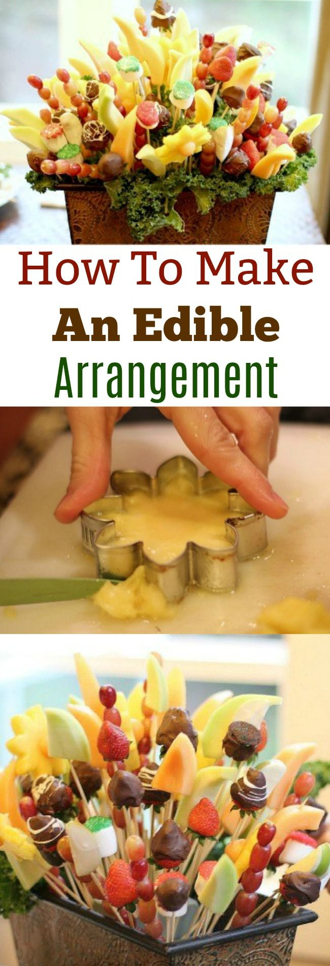 I made this edible arrangement 2 years ago and brought it to my parents home for Christmas. I decided to re-post it today because edible arrangements are simple to make and are so much nicer than flowers in my opinion. Plus, you'll look like a freakin' rockstar when you walk in to your parents house with an …